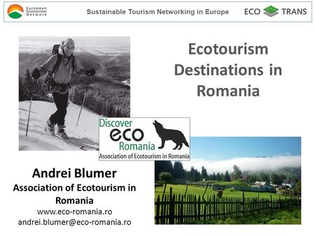 romania ecotourism in romania essay More communism, sport, romania essay topics sports associations were already in existence in the country as early as the middle of the 19th century.