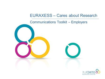 EURAXESS – Cares about Research Communications Toolkit – Employers.
