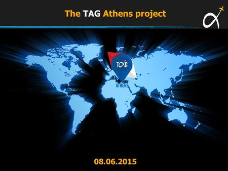 The TAG Athens project 08.06.2015. Dynamic traffic development during the first five months of 2015… Passenger Traffic Development January - May 2015/2014.