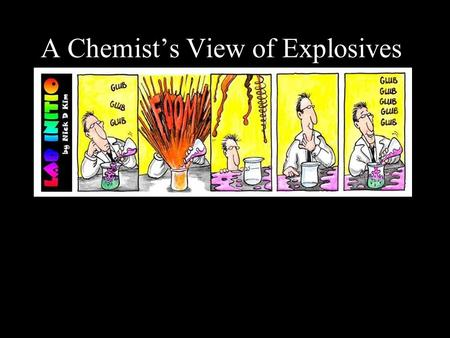 A Chemist's View of Explosives:. I. Chemical bond: a mutual electrical attraction between the nuclei and valence electrons of different atoms that binds.
