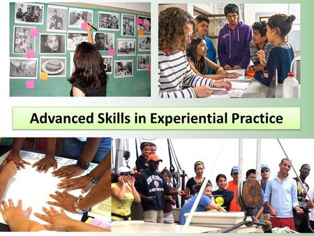 Advanced Skills in Experiential Practice. Dear Teacher, I am a survivor of a concentration camp. My eyes saw what no man should witness. Gas chambers.