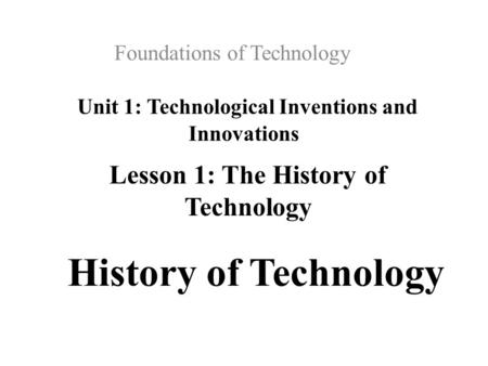 a history of technological inventions that changed lives Human inventions and technologies have shaped civilizations and transformed   the history of the automobile reflects a worldwide evolution.