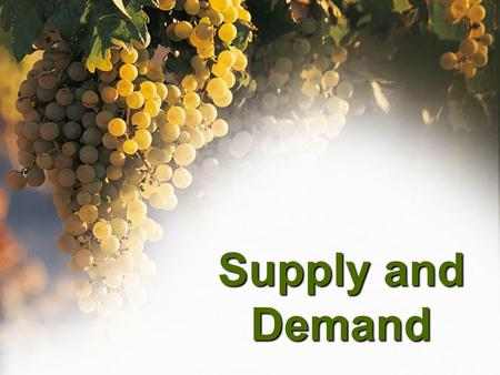 an analysis of the effects of the law of supply in demand in the market For official use daf/comp/wd  analysis of both demand and supply side  include such products into one product market in such cases the effects of supply.