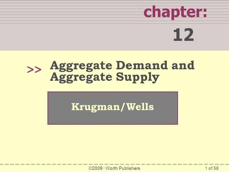12 chapter: >> Aggregate Demand and Aggregate Supply