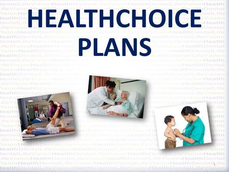 HEALTHCHOICE PLANS 1. Available Plans HealthChoice High Option HealthChoice Basic HealthChoice S-Account HealthChoice USA 2 Using a HealthChoice Network.