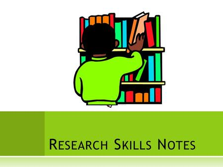 Research Skills Notes.
