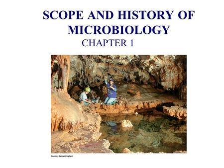 Brief history of microbiology