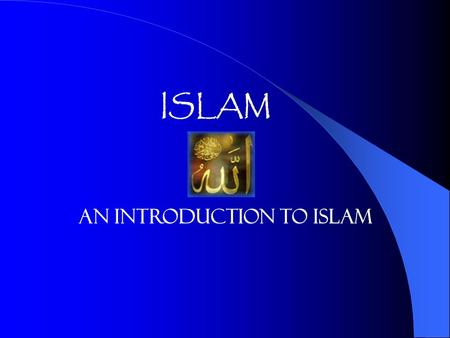 "ISLAM An Introduction to Islam. Osama bin Laden's Fatwa What is the role of Islam in this piece How does reading this piece explain the thesis"" America's."