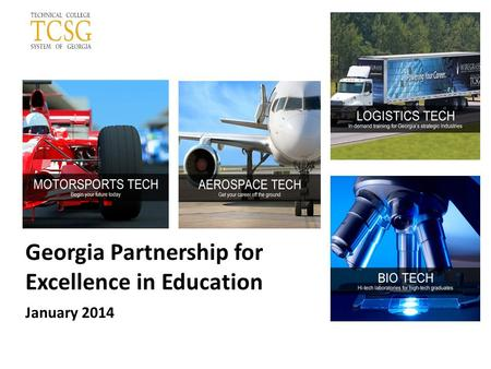Georgia Partnership for Excellence in Education January 2014.