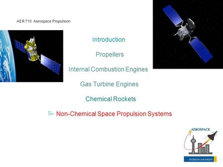 Internal Combustion Engines Gas Turbine Engines Chemical Rockets
