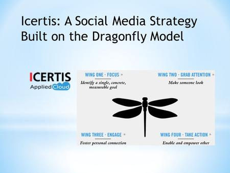 Icertis: A Social Media Strategy Built on the Dragonfly Model.