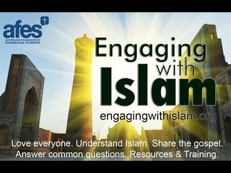 PART 1 Who, When, Where and How Basic Beliefs Pillars of Islam The Qur'an PART 2 What the Qur'an says about Christianity. Why Christians and Muslims disagree.