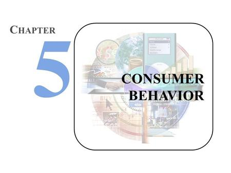 CHAPTER CONSUMER BEHAVIOR.
