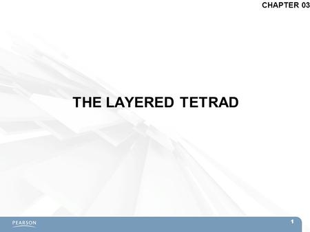 CHAPTER 03 THE LAYERED TETRAD 1.