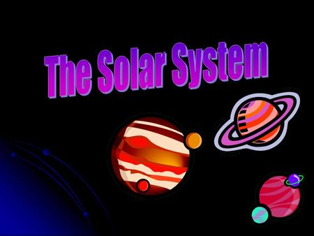 Facts about the Solar System There are nine planets in our solar system. The sun is at the center. Each planet orbits the sun. There are two groups of.