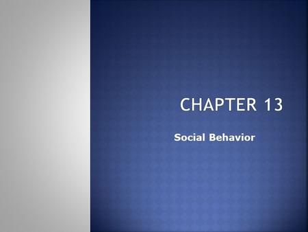 Social Behavior. Table of Contents  Person perception  Attribution processes  Interpersonal attraction  Attitudes  Conformity and obedience  Behavior.