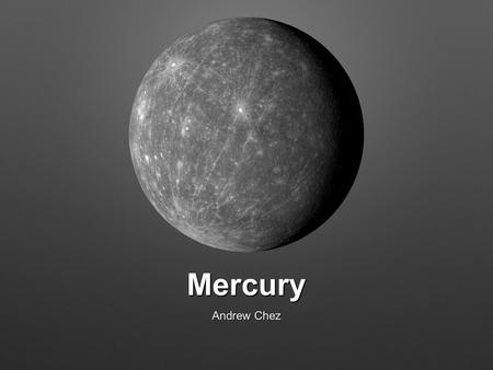 the discovery of planet mercury - photo #1