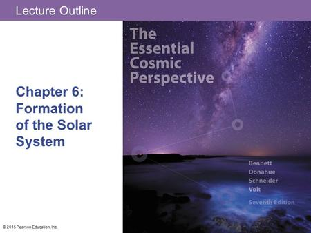 Chapter 6: Formation of the Solar System