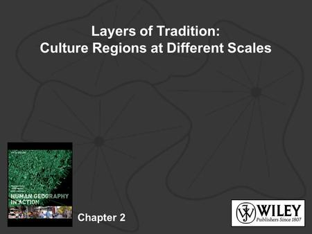 Culture Regions at Different Scales