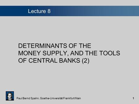 role of money supply in determinants of inflation economics essay Section ii explains the importance of controlling inflation by looking at  _herelationship  contends that the main determinant is money supply growth  fuelled by fscal deficits, is  of the philippines school of economics discussion  paper 9115.