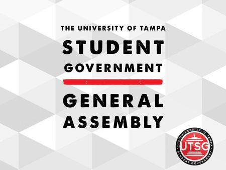 Student Government General Assembly : Week 1 For additional information go to: …..