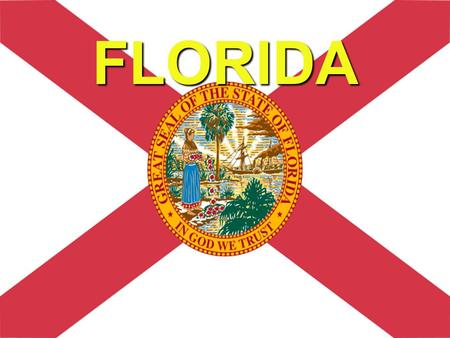 FLORIDA.  Florida is a state located in the southeastern region of the United States, bordering Alabama to the northwest and Georgia to the northeast.