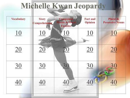 Michelle kwan essay