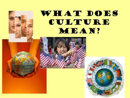 What does Culture mean?. Political Culture widely shared beliefs, values and norms concerning relationships of citizens to government and to one another.