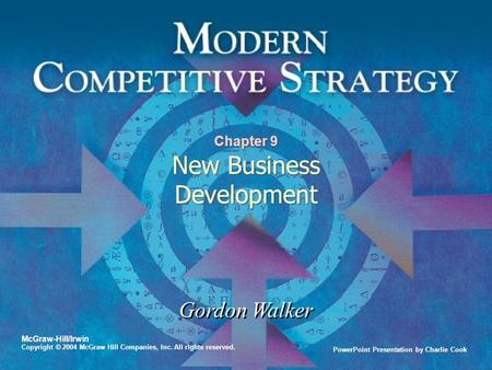 Chapter 9 New Business Development