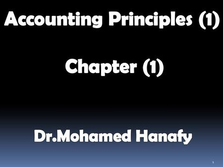 Accounting Principles (1)