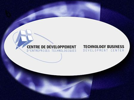 Technology Business Development Center 2 The intrinsic complexity of the technology business start-up : n Intellectual Property is critical; n R&D dominating;