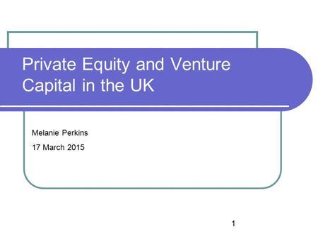 Essay on Venture Capital (520 Words)