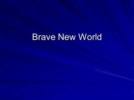 "a brave new world and 1984 essay This essay will then look at the book ""brave new world"" and the movie ""1984"" ( based on the book ""1984""), we will look at similarities and."
