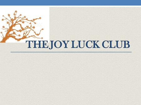 An analysis of the nationality in the joy luck club a novel by amy tan