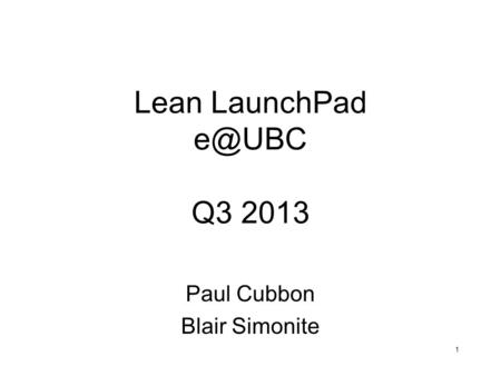 Paul Cubbon Blair Simonite