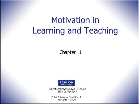 motivation in learning International education studies may, 2009 145 a brief discussion on motivation and ways to motivate students in english language learning yuan kong foreign language stafff room, jining medical college.