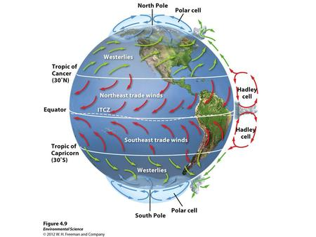 1.What is the Coriolis Effect? How does it affect air currents on Earth? 2.What causes the seasons? (Why is it hot in the summer and cold in the winter?)