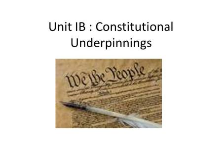 constitutional underpinnings essay questions Course description:  1 constitutional underpinnings  unit 1 objective quiz (30 multiple choice questions) unit 1 timed essay 2 federalism.