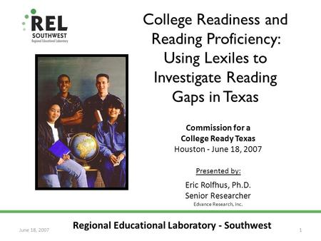 Commission for a College Ready Texas Houston - June 18, 2007