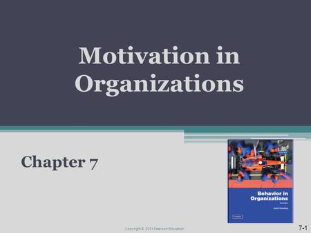 robbins judgeorganizational behavior15th editionchapter 8 motivation Concepts controversies applications seventh edition chapter 6 basic motivation concepts 210 chapter 8 foundations of group behavior 292.