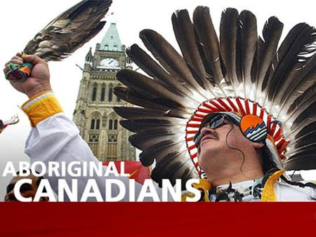 Canadian Aboriginal Issues 1763 Royal Proclamation is signed. This document explicitly recognizes aboriginal title; aboriginal land ownership and authority.