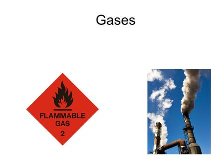 Gases. Gases - Concepts to Master What unit of measurement is used for temperature when solving gas law problems? Why? Summarize the Kinetic Molecular.