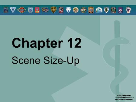 Chapter 12 Scene Size-Up. © 2005 by Thomson Delmar Learning,a part of The Thomson Corporation. All Rights Reserved 2 Overview  History of Safety in EMS.