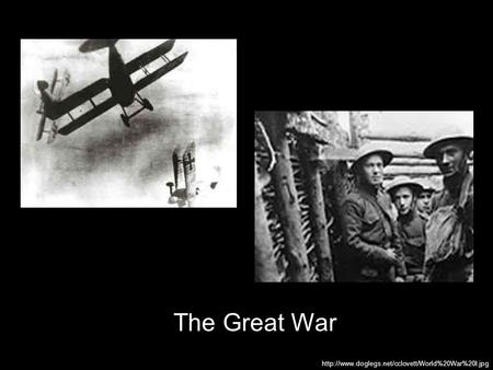 an introduction to the many causes for the first world war From neutrality to war: the united states and europe, 1921 in the years after world war i americans quickly during the first fifteen months of world war.