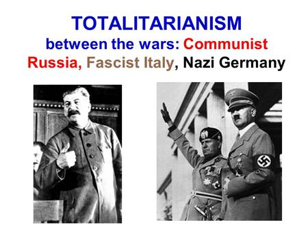 nazi germany totalitarian state This is the fourth essay in a series devoted to examining citizenship and the american citizen, the rights, duties, and norms of which have become ever more contentious beginning in the divisive sixties.