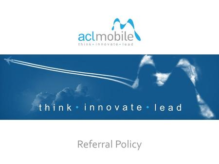 Referral Policy 1. think innovate lead CURRENT OPENINGS Software Architect Senior Software Engineer Software Engineer Senior QA Engineer QA Engineer UI.