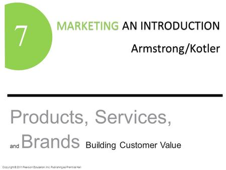 definition of product offered kotler Definition of product attributes:  this is the product that you will present to prospective investors to convince them that this is an viable business worthy of an .