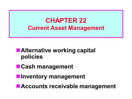 current asset management Investment funds monitor  is not under any obligation to update or keep current the information  by bpi asset management and affiliates are trust and.