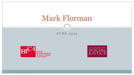 JUNE 2013 Mark Florman. The World The World in 1991 46%