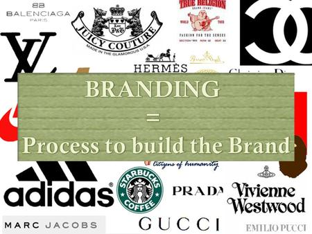 Next.......  Brand Equity  Strategic Branding  And many more...